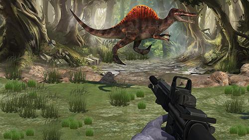 Actionspiele Dinosaur shooter 3D für das Smartphone