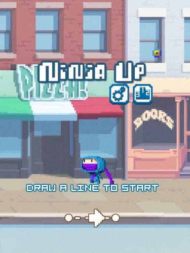 Juegos de arcade Ninja up! para teléfono inteligente
