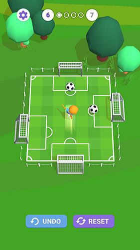 Arcade Slide goal hero for smartphone