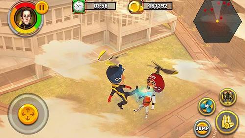 Action Flying hero escape 3D für das Smartphone