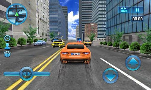 Simulation Driving in car for smartphone