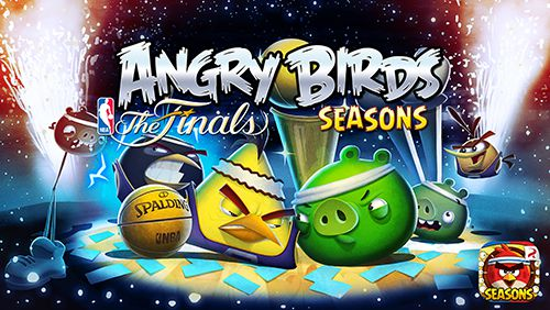 логотип Злые птички: НБА финал