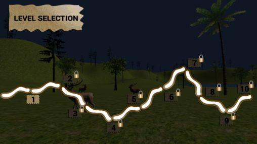 Action Stag hunting 3D für das Smartphone
