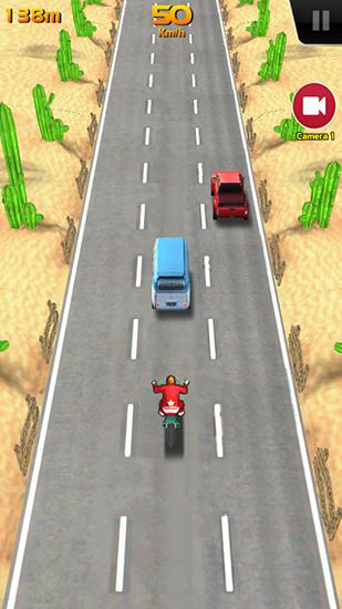Arcade games Speed buster: Motor mania for smartphone