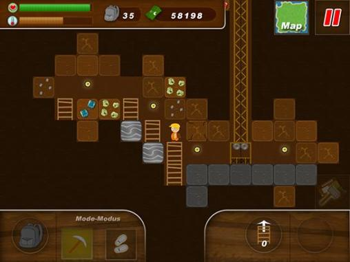 Treasure miner: A mining game für Android