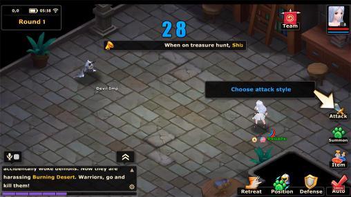 Hero of magic: War age Screenshot