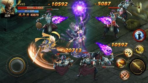 Strategische RPG-Spiele Chaos combat auf Deutsch