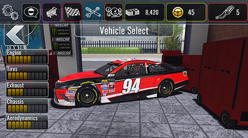 NASCAR heat mobile screenshot 1