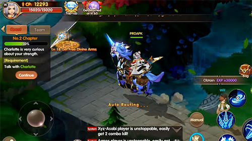 Summoners knight: Dragon blaze für Android