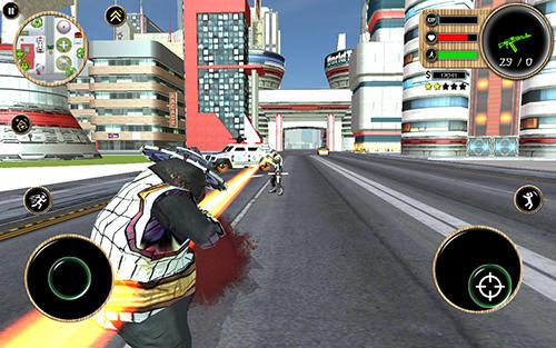 Panda superhero screenshot 1