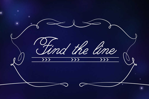 logo Finde die Linie