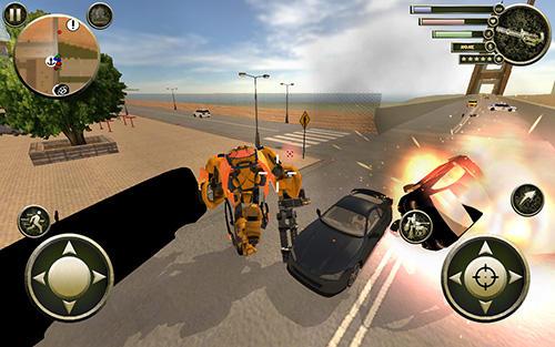 Actionspiele Rise of steel für das Smartphone