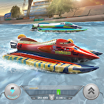 Boat racing 3D: Jetski driver and furious speed icon