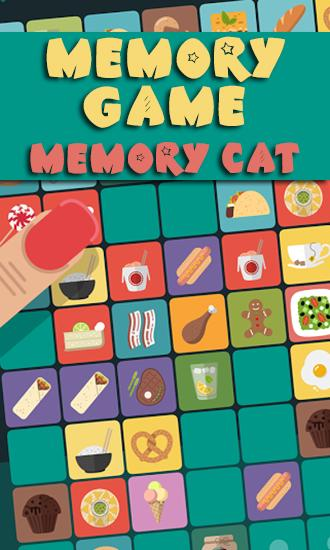 Memory game: Memory cat icon