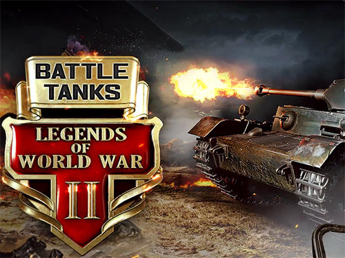 Battle tanks: Legends of world war 2 captura de tela 1
