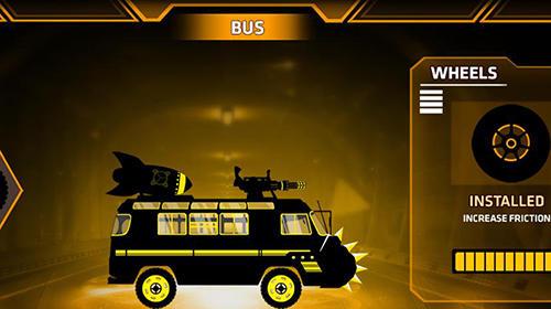 Arcade-Spiele Stickman racer: Survival zombie für das Smartphone