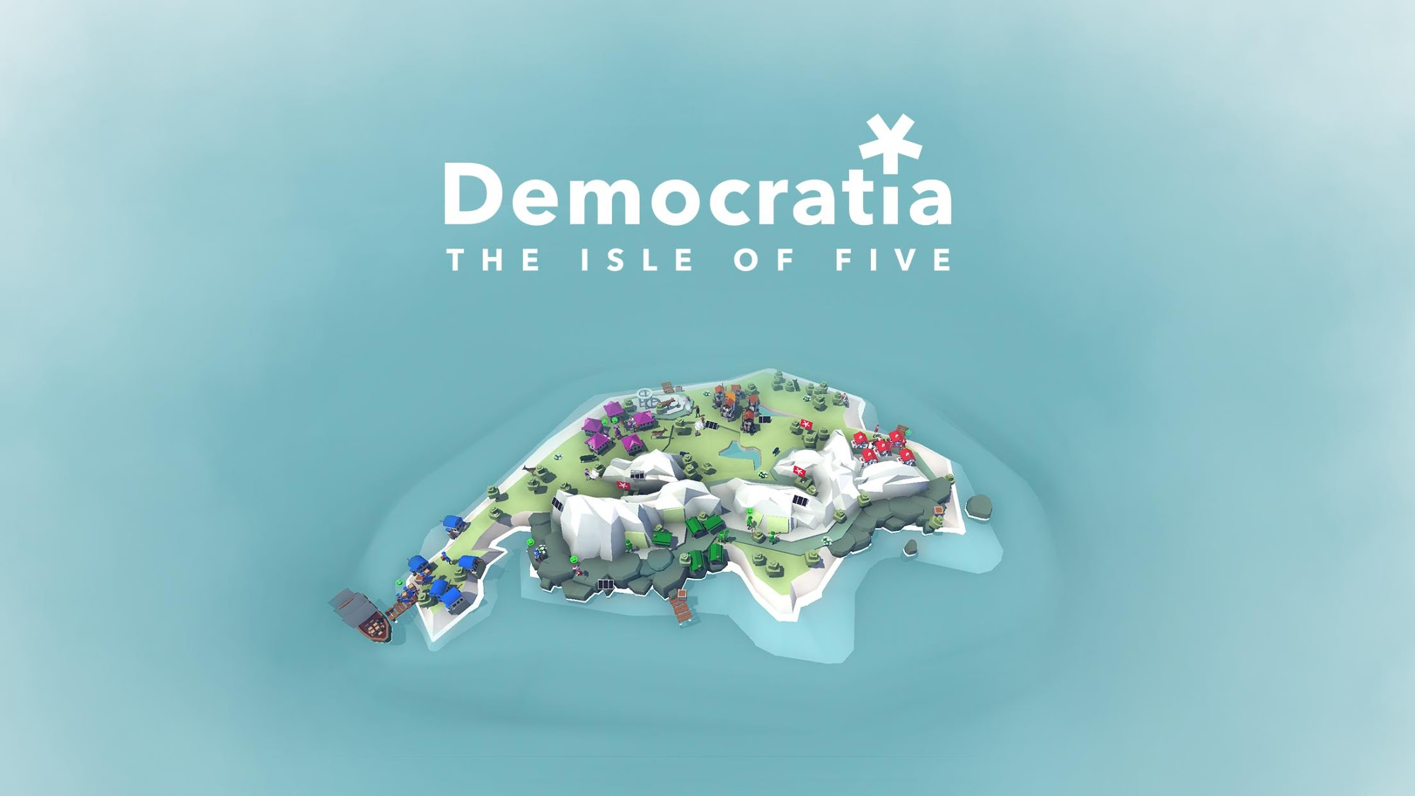 Democratia – The Isle of Five скриншот 1