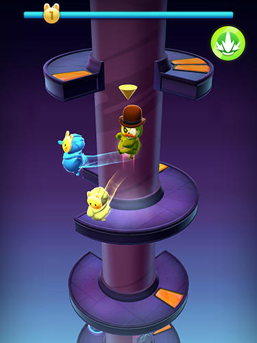 Wacky stars: Multiplayer spiral jump arcade für Android