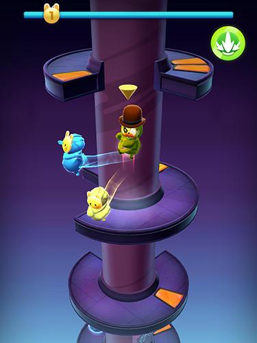 Wacky stars: Multiplayer spiral jump arcade для Android