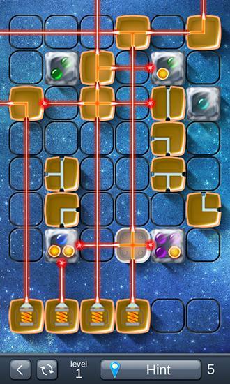 Logikspiele Laser box: Winter für das Smartphone