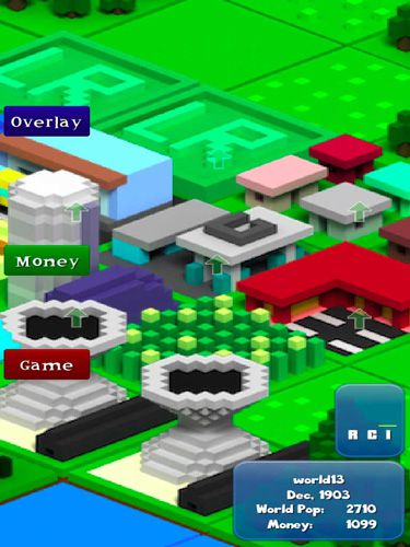 Voxel city for iPhone for free