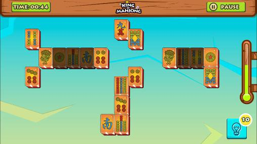 Logik King of mahjong solitaire: King of tiles für das Smartphone