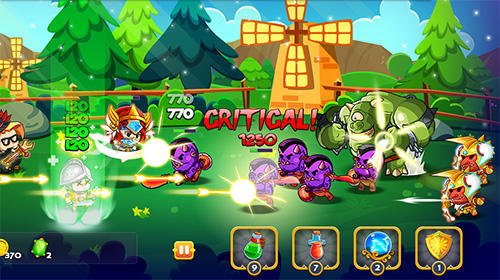 Fire frontier: Heroes of valor für Android