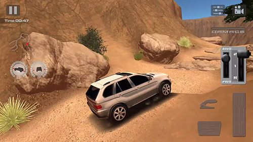Captura de tela Condução Offroad: Deserto no iPhone