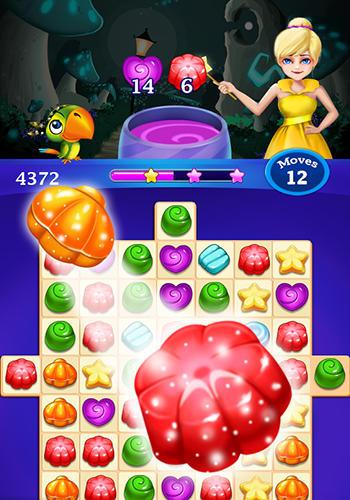 Arcade-Spiele Candy sweet: Match 3 puzzle für das Smartphone
