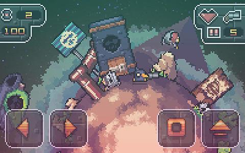Arcade-Spiele Battle ducks für das Smartphone