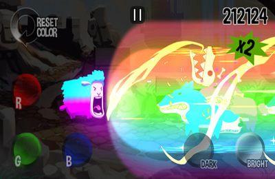 Arcade-Spiele: Lade Buntes Schaf auf dein Handy herunter