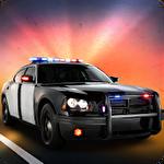 Extreme police car racer Symbol