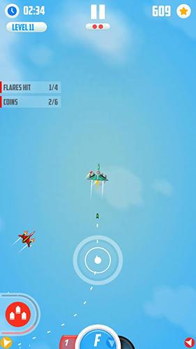 Flugspiele Man vs missiles: Combat auf Deutsch