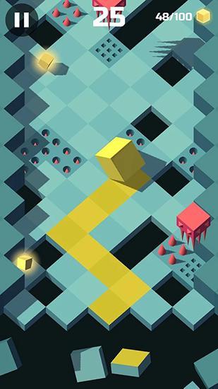 Arcade Adventure cube für das Smartphone