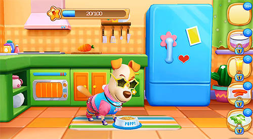 Simulation Puppy life: Secret pet party für das Smartphone