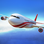 Flight pilot: Simulator 3D Symbol