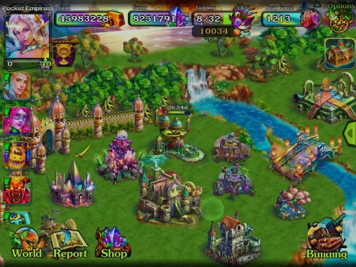 Pocket empires II pour Android