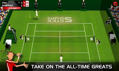 Stick Tennis Screenshot
