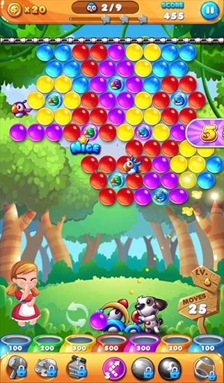 Bubble story for Android