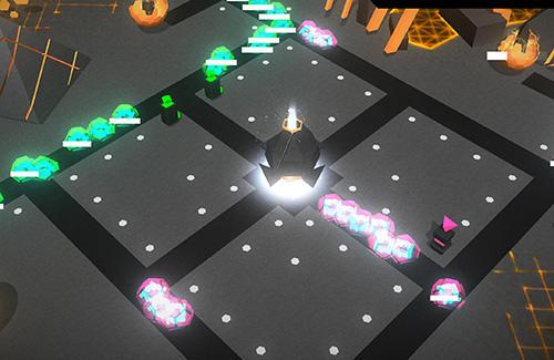 Strategie Ionic wars: Tower defense strategy für das Smartphone