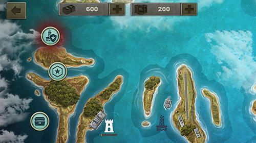 Enemy waters: Submarine and warship battles para Android
