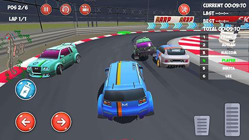 Drive and drift: Gymkhana car racing simulator game auf Deutsch