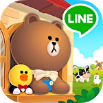 Line: Brown farm іконка