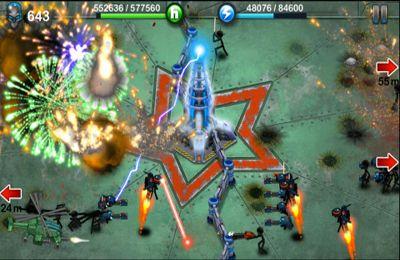 Screenshot Tesla-Krieg auf dem iPhone