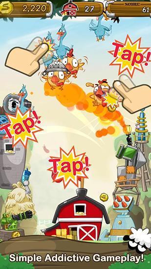 Arcade Crazy farm war für das Smartphone
