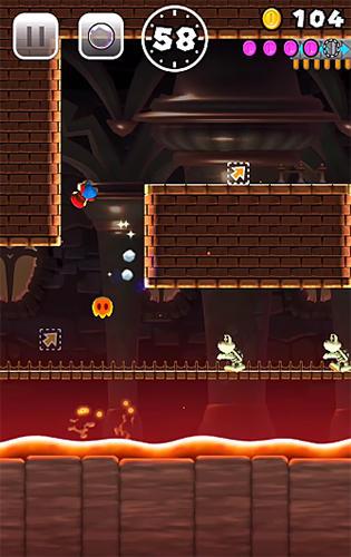 Super Mario Run auf Deutsch