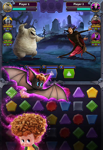 Hotel Transylvania: Monsters! Puzzle action game für Android