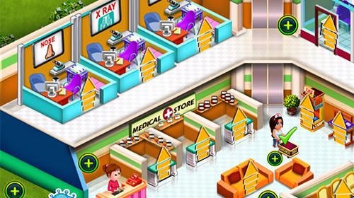 Doctor mania: Hospital game für Android