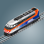 アイコン Chicago train: Idle transport tycoon