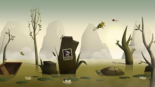 Runaway toad captura de pantalla 1